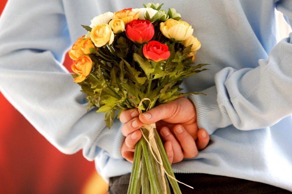 flores e declarações