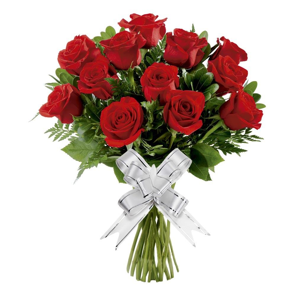 presente 15 anos buque 12 rosas vermelhas
