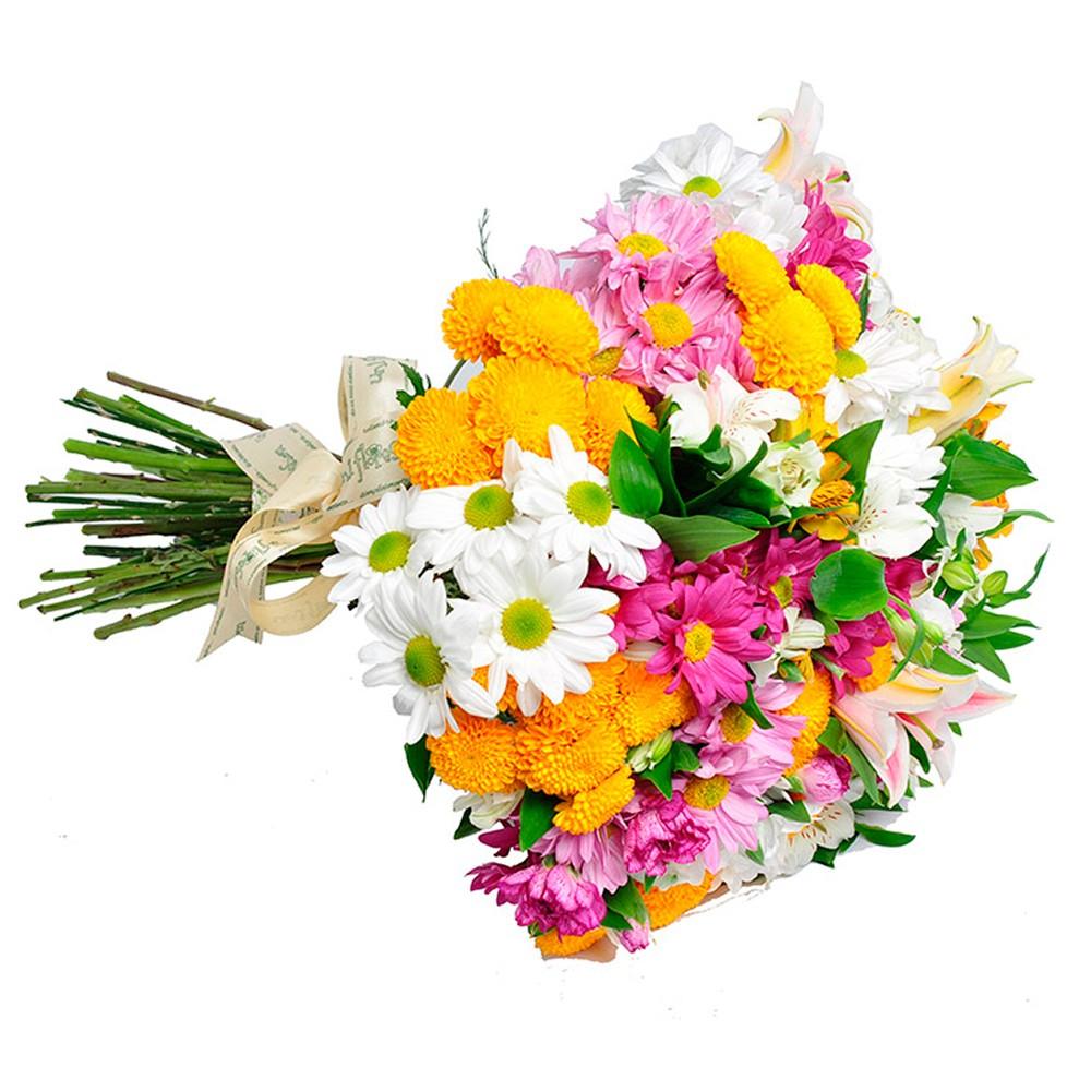 presente 15 anos buque campestre de flores