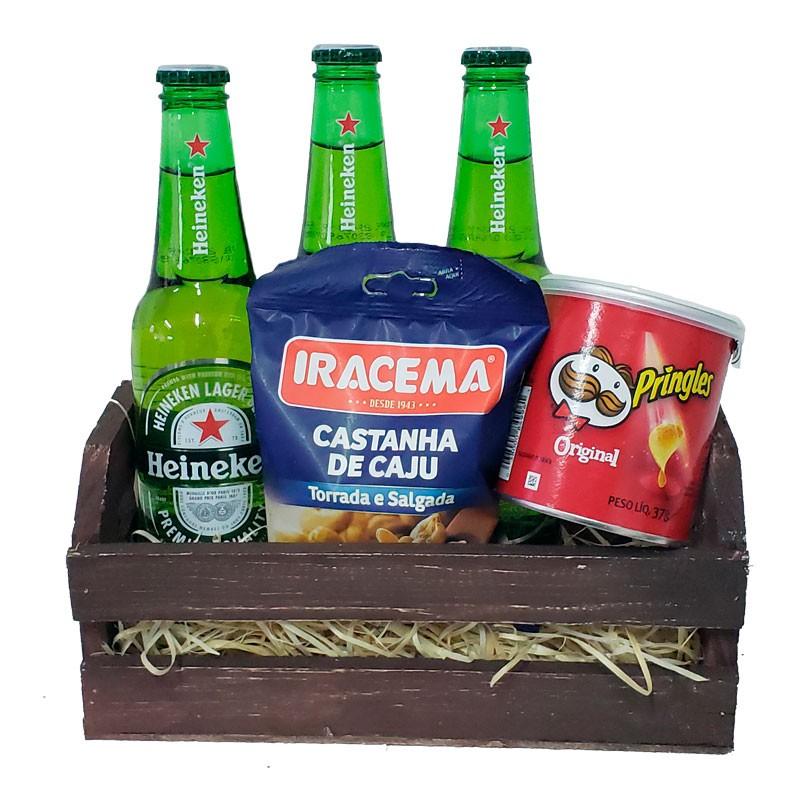 o que dar de presente para namorado kit cerveja aperitivos